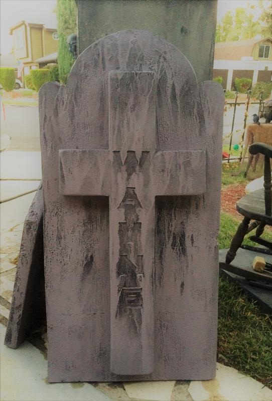 Midsummer Scream Tombstone Painting & Aging