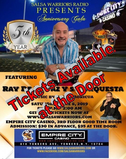 Yonkers Parking Tickets >> Salsa Warriors Tickets