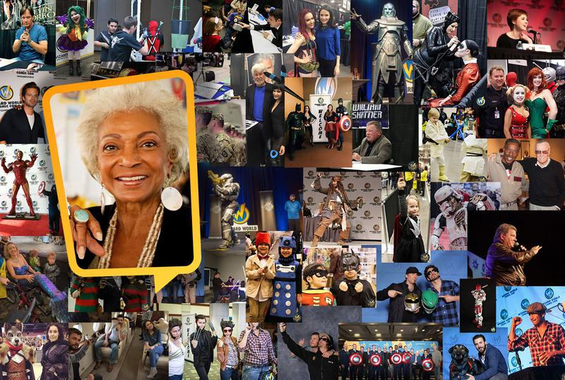 Nichelle Nichols VIP Experience @ Wizard World CLEVELAND Comic Con & Gaming 2017