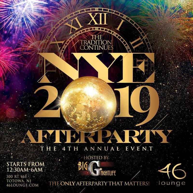 NYE After Party At 46 Lounge