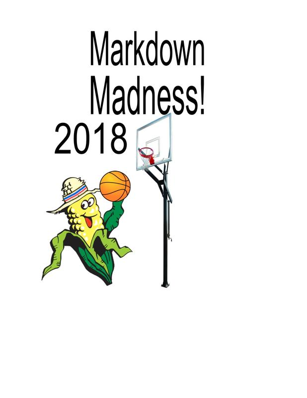 2018 March Markdown Madness