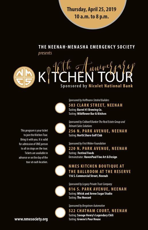 2020 NMES Kitchen Tour