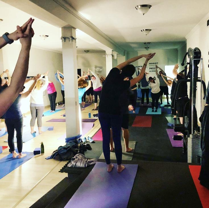 FitMix Yoga and Wine