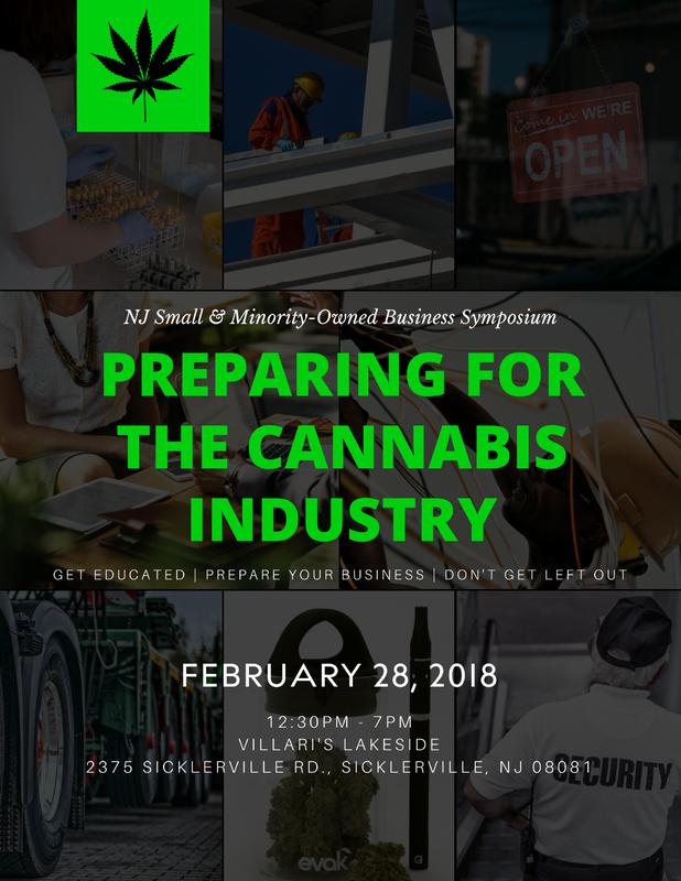 NJ Small & Minority-Owned Business Symposium: Preparing for the Cannabis Industry