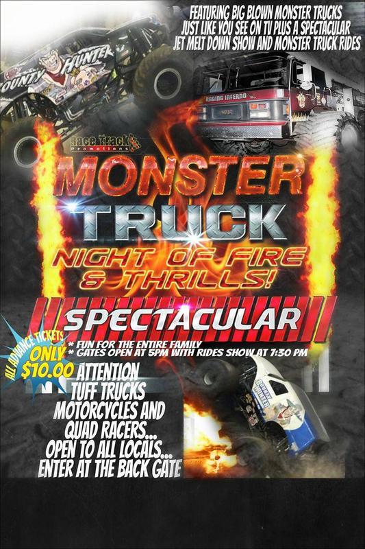 Monster Truck Night of Thrills & Destruction-Mandan