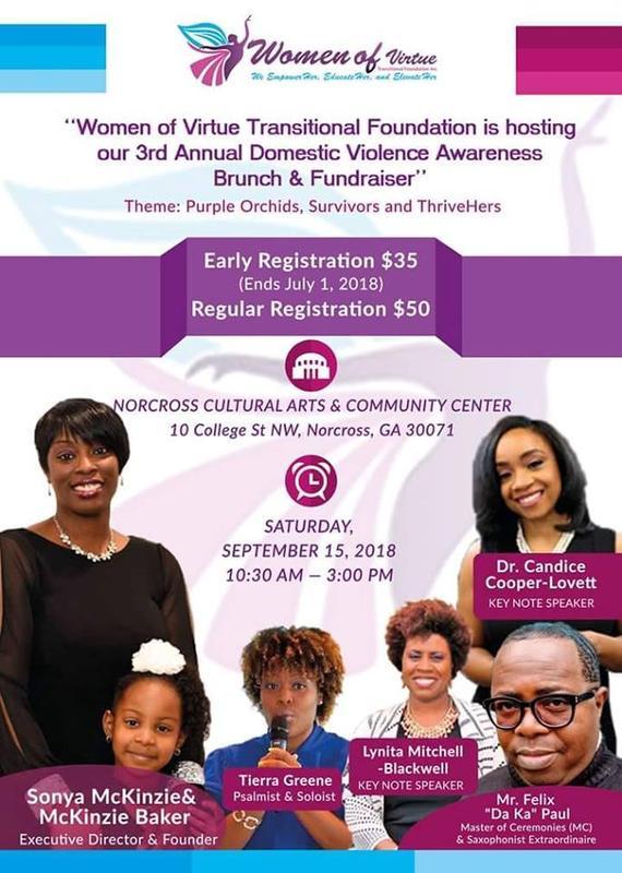 Purple Orchids, Survivors and ThriveHers Brunch & Fundraiser