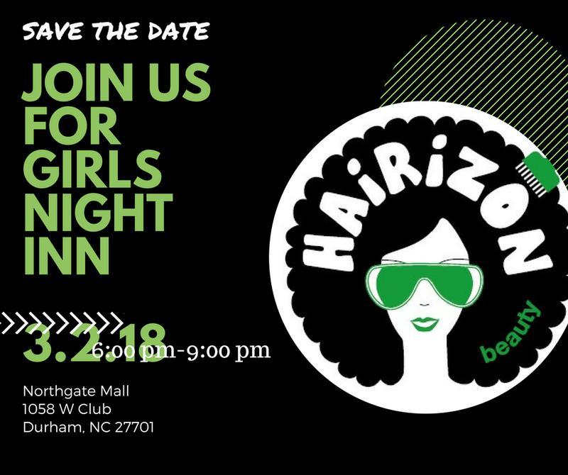 Hairizon's Annual Girl's Night Inn