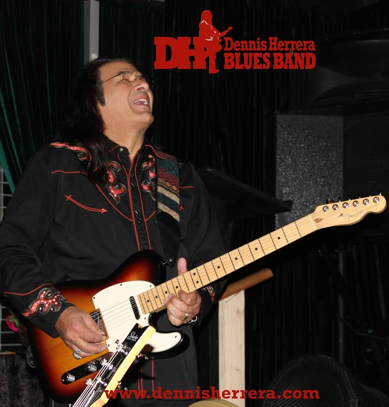 Dennis Herrera Blues Band 8-29-2015