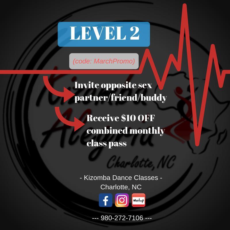 Kizomba LEVEL 2 March session