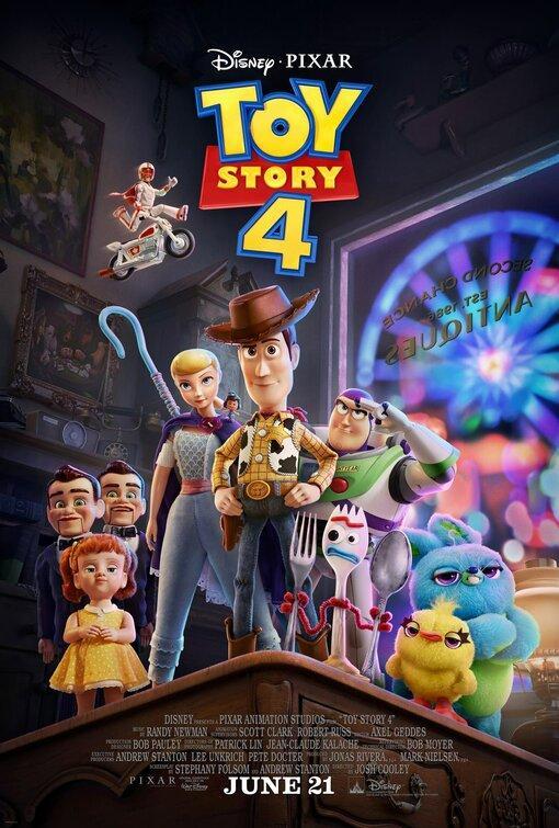 Toy Story 4 && Aladdin