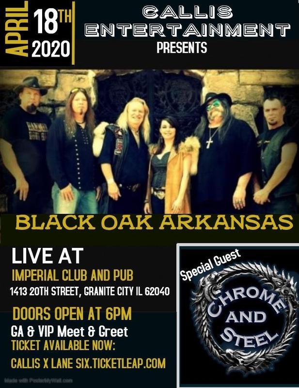 Black Oak Arkansas - Rocks Granite City