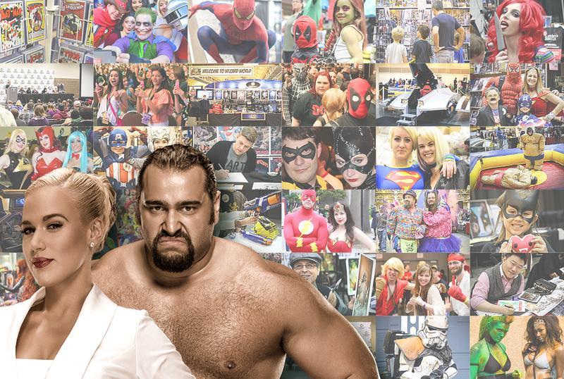 WWE® Rusev™ & Lana™ DUAL VIP @ Wizard World Cleveland 2016