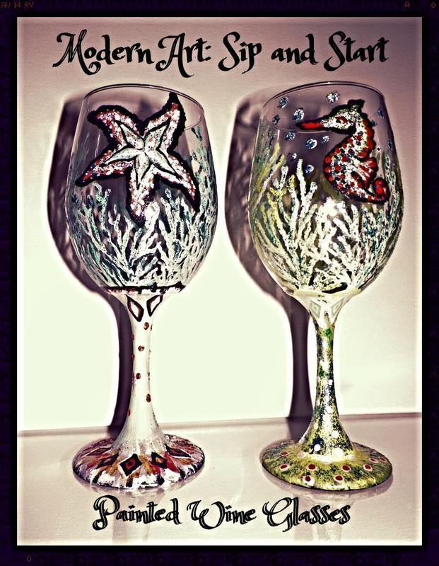 Lucky Wine Glasses