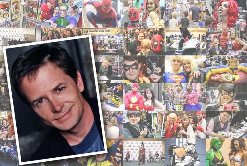 Michael J. Fox Gold VIP @ Wizard World Comic Con CHICAGO 2016