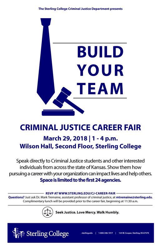 2018 Sterling College Criminal Justice Career Fair