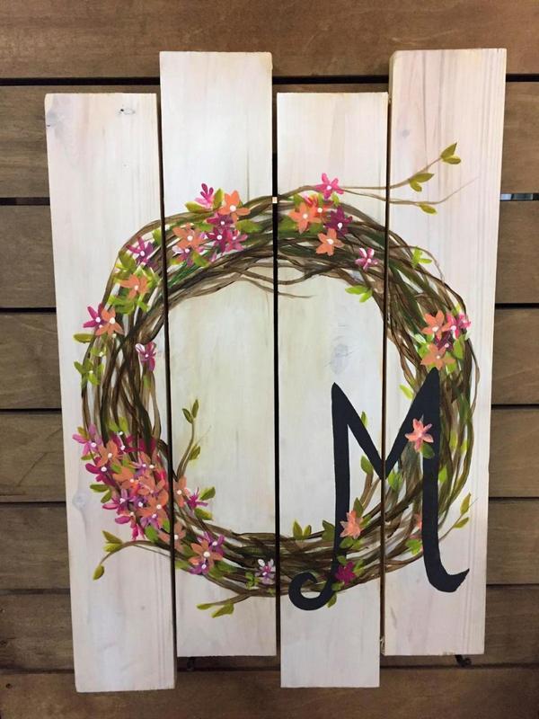 Monogram Wreath (42850)