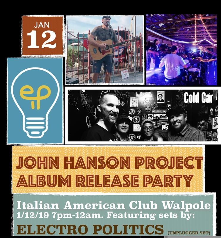 John Hanson Project Album Release Party!
