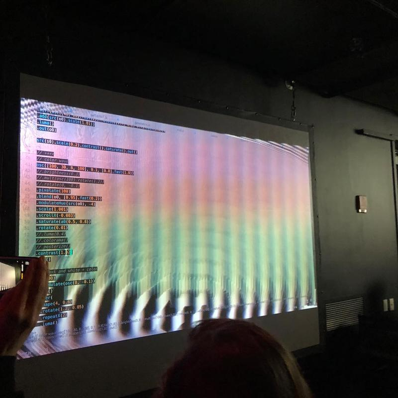 Sound & Light & Code: Algorave and Livecoding Workshop with LiveCode.NYC