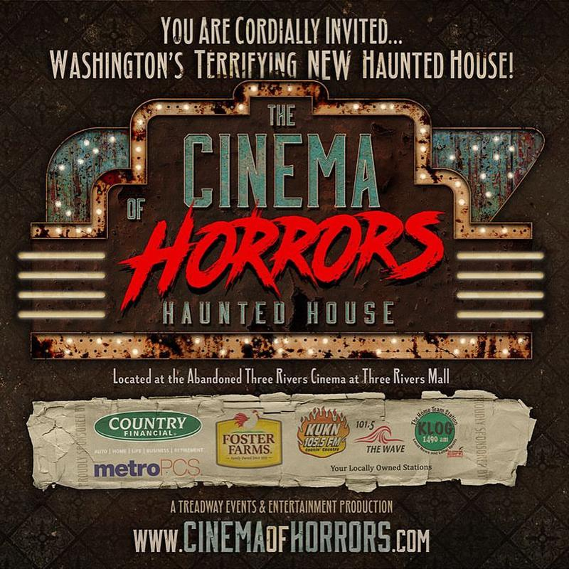 Cinema of Horrors Haunted House 2018