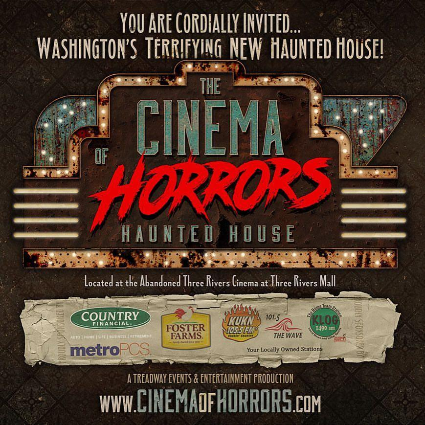Cinema Of Horrors Haunted House Tickets In Kelso, WA