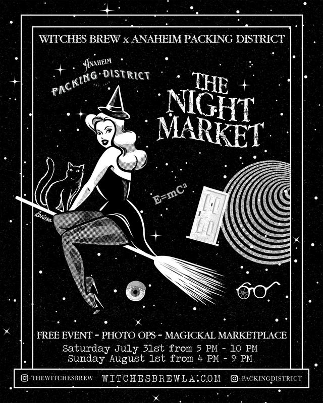 Witches Brew: The Night Market (Anaheim Packing District)