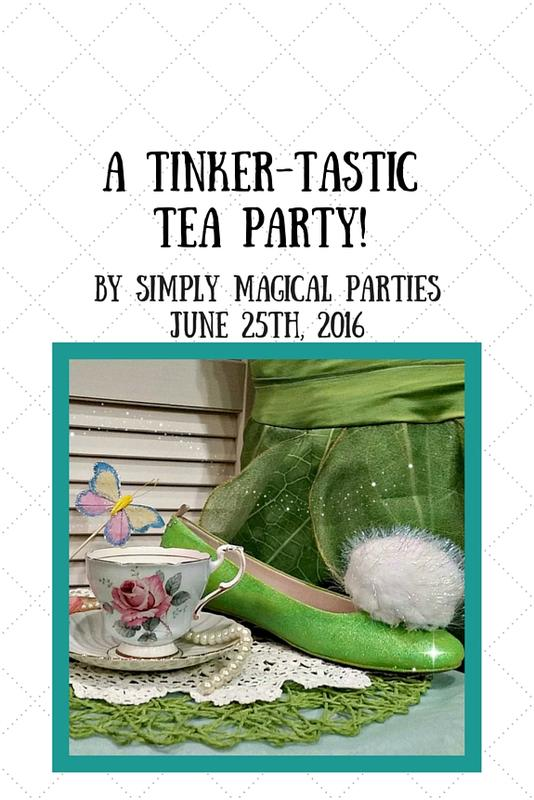 Tinker-Tastic Tea Party!