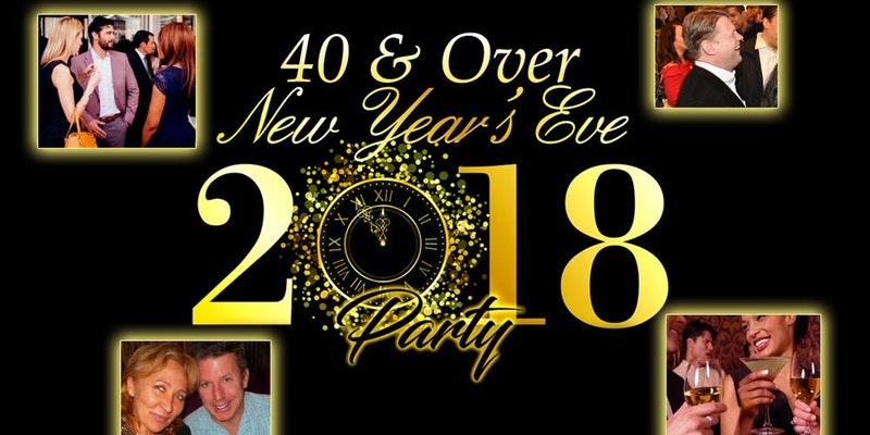40s & Over New Years Eve Party