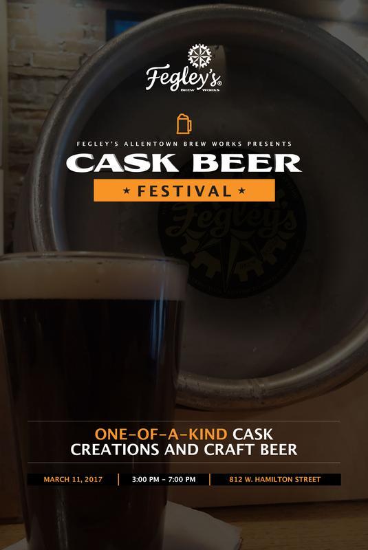 Fegley's Brew Works Cask Beer Festival 2017
