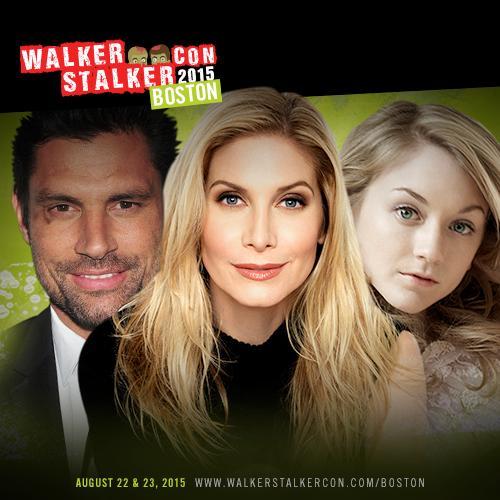 Walker Stalker Con Boston 2015