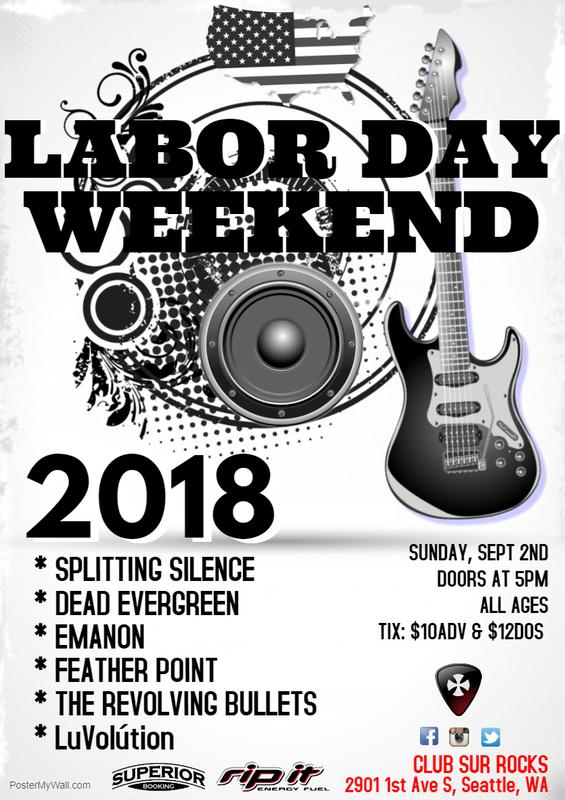 Labor Day Weekend Bash at Club Sur