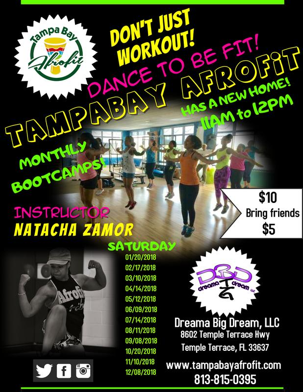Don't Just Workout , Dance to be fit with Tampabay Afrofit