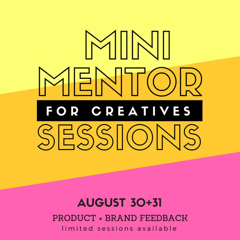 Mini Mentor Session for Creatives