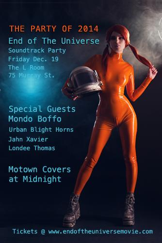 End of The Universe Movie Soundtrack Party At The L Room NYC