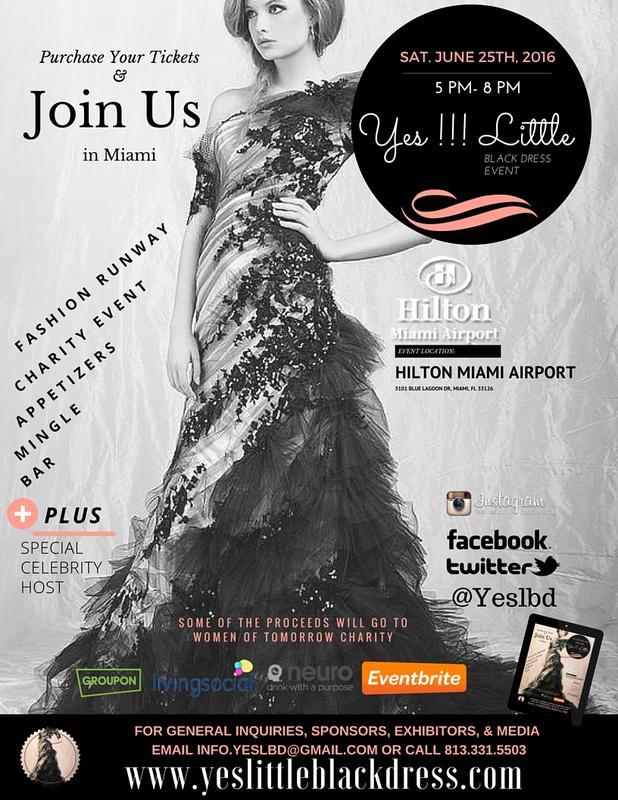 Volunteer Yes Little Black Dress Event