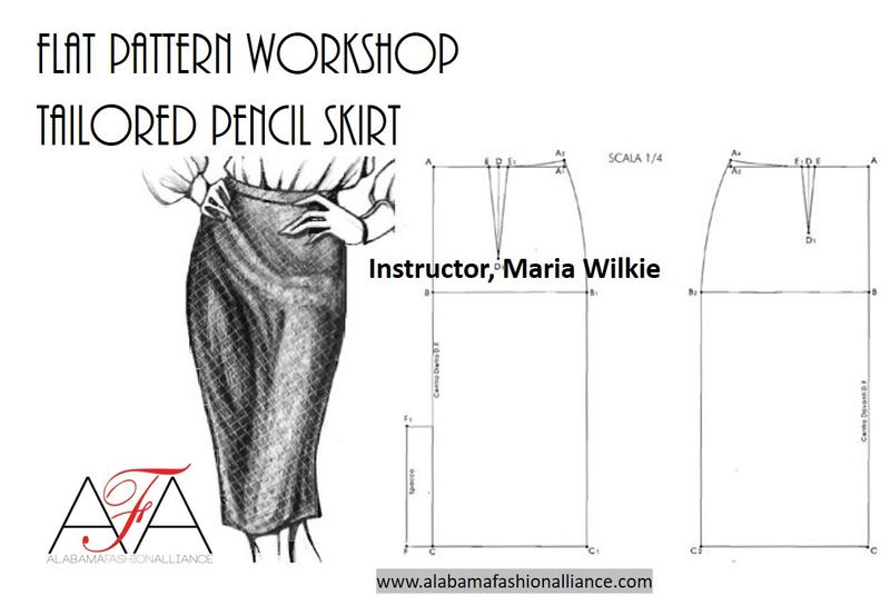 Flat Pattern Workshop | Pencil Skirt