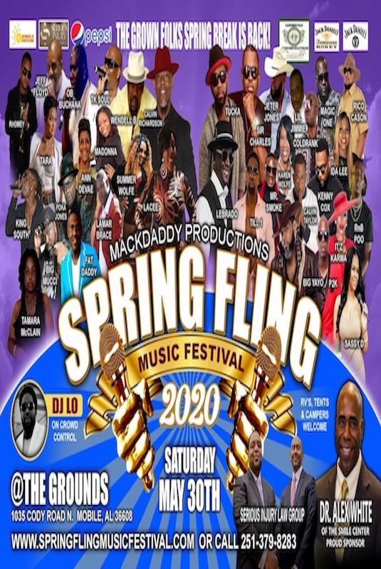 Spring Fling Music Festival 2020