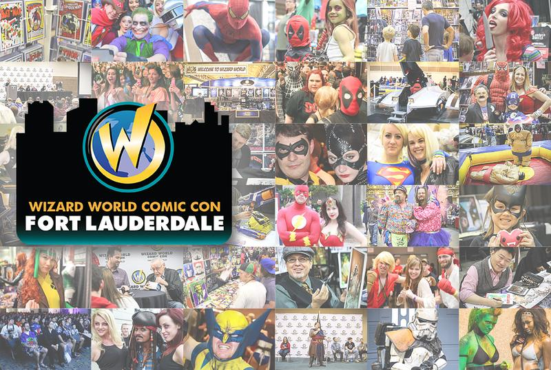 Wizard World Comic Con Fort Lauderdale 2015 VIP Package