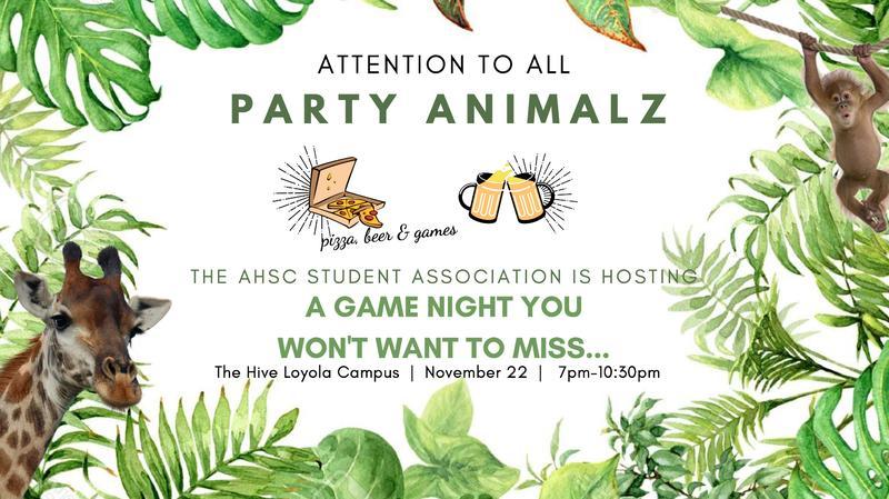AHSC Game Night