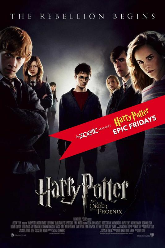 Harry Potter Epic Fridays: Harry Potter and the Order of the Phoenix