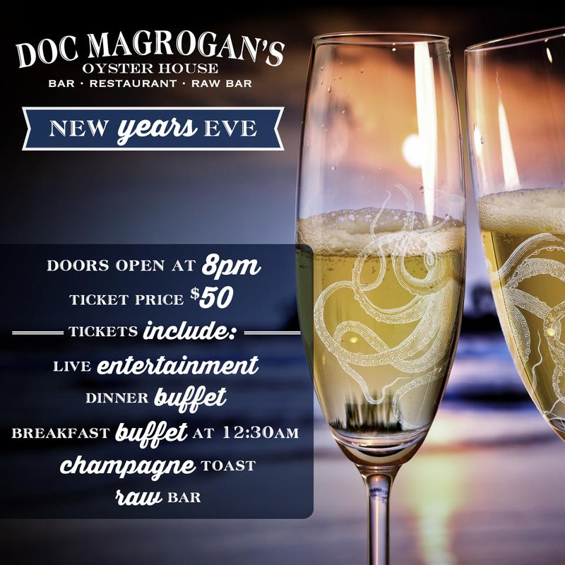 Doc Magrogan's New Year's Eve 2018!