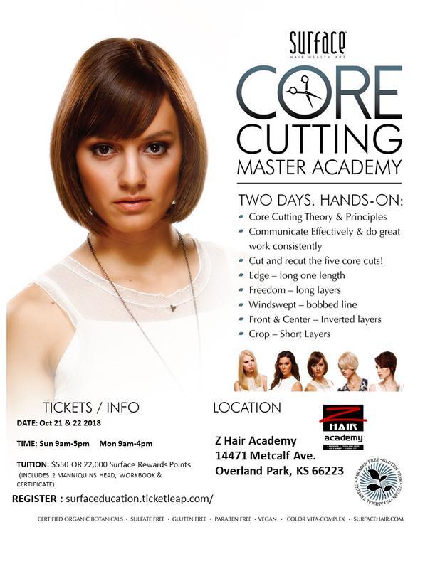 Surface Master Core Cutting Academy: Oct 21 & 22 Overland Park, KS