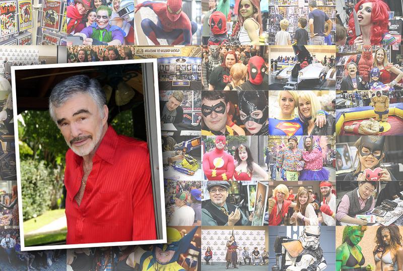 Burt Reynolds VIP @ Wizard World Comic Con Chicago 2015
