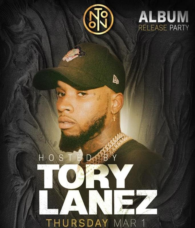 TORY LANEZ @ NOTO Philly March 1st