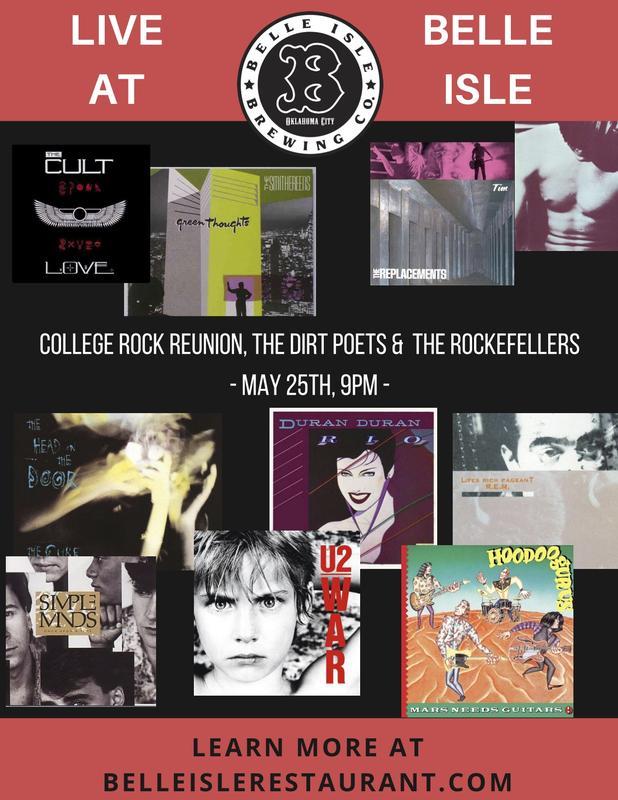 80s College Rock Bonanza w/Dirt Poets and Rockefellers!