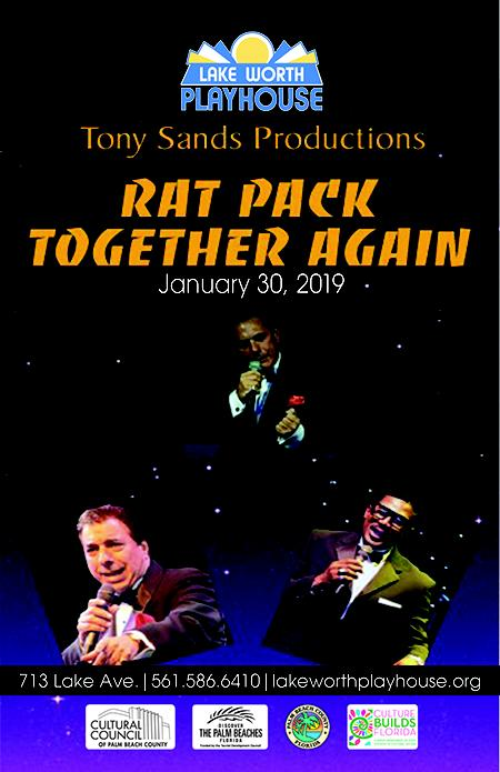 CONCERT - RAT PACK TOGETHER AGAIN - A Tony Sands Production - 2019