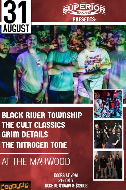 The Cult Classics / Grim Details / The Nitrogen Tone / Black River Township