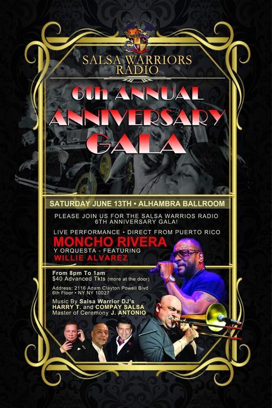 Salsa Warriors 6th Anniversary Live Moncho Rivera From Puerto Rico