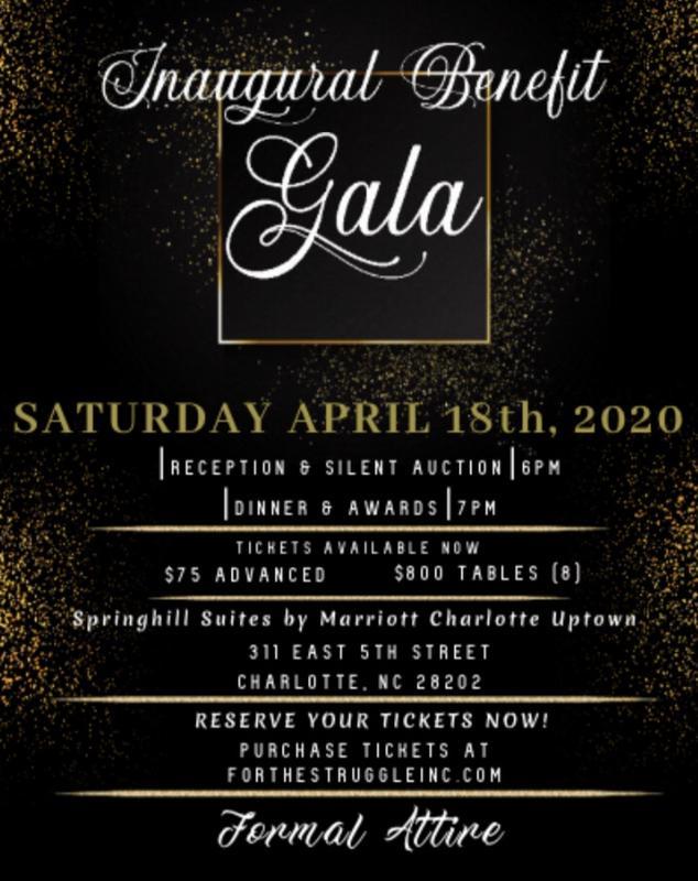 For The Struggle, Inc. Inaugural Benefit Gala