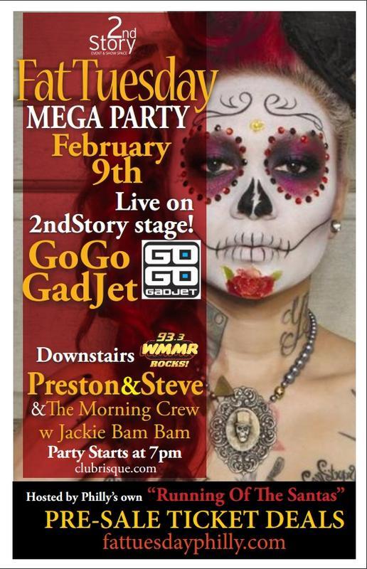 FatTuesdayMEGA PARTY! GoGo Gadget! Preston&Steve!