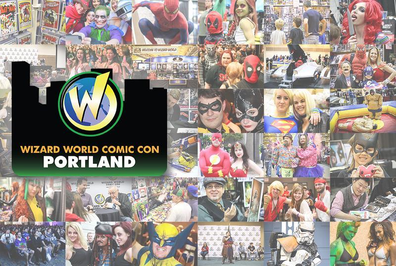 Wizard World Comic Con Portland 2016 VIP Package